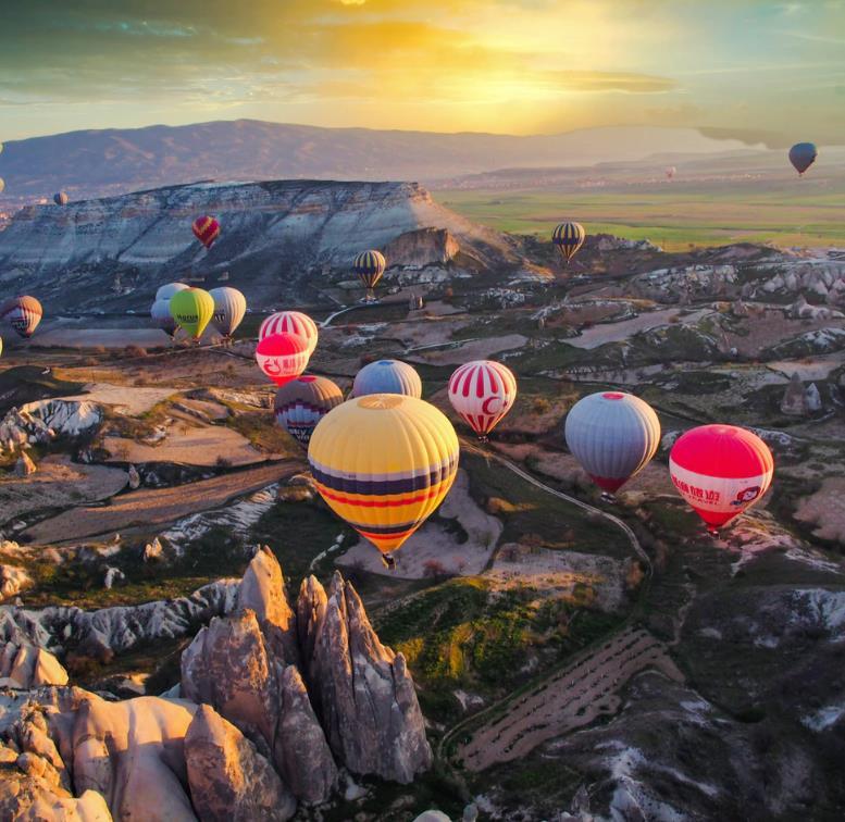 Flüge: Kappadokien / Türkei (Nov-Dez) Hin- und Rückflug mit Corendon von Stuttgart ab 58€