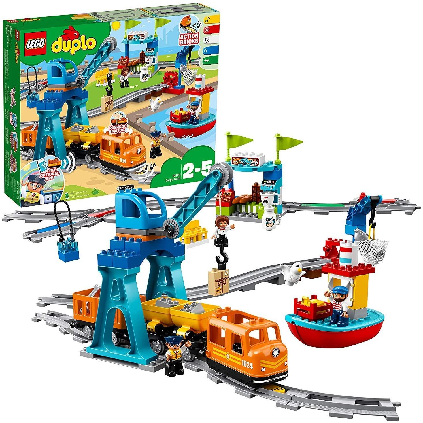 [Amazon] LEGO 10875 DUPLO Güterzug / Coupon aktivieren