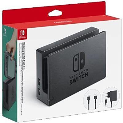 Nintendo - Dock Set mit Basisschalter, Netzteil und HDMI-Schalterkabel [amazon.es]