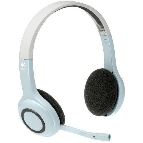 Logitech Wireless Bluetooth Headset weiß