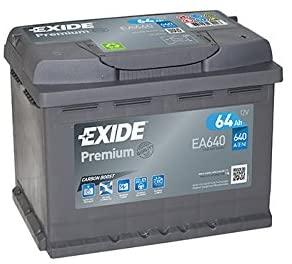 Starterbatterie Exide EA640 Premium Carbon Boost Autobatterie 12V 640A 64Ah Amazon