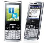 LG S310 flaches Einsteiger  Handy mit Tastatur  und zweckmässiger Ausstattung