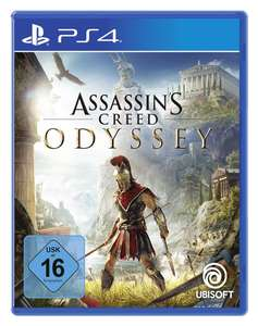 Assassin's Creed Odyssey (PS4 & Xbox One) für je 17,99€ (Amazon Prime & Müller Abholung)
