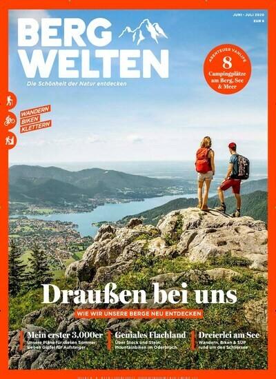 Bergwelten Abo (8 Ausgaben) für 44 € mit einem 35 € Amazon-Gutschein/ 35 € Verrechnungsscheck