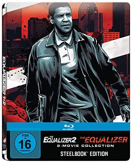 The Equalizer 1 + 2 Steelbook Blu-ray [Amazon Prime]