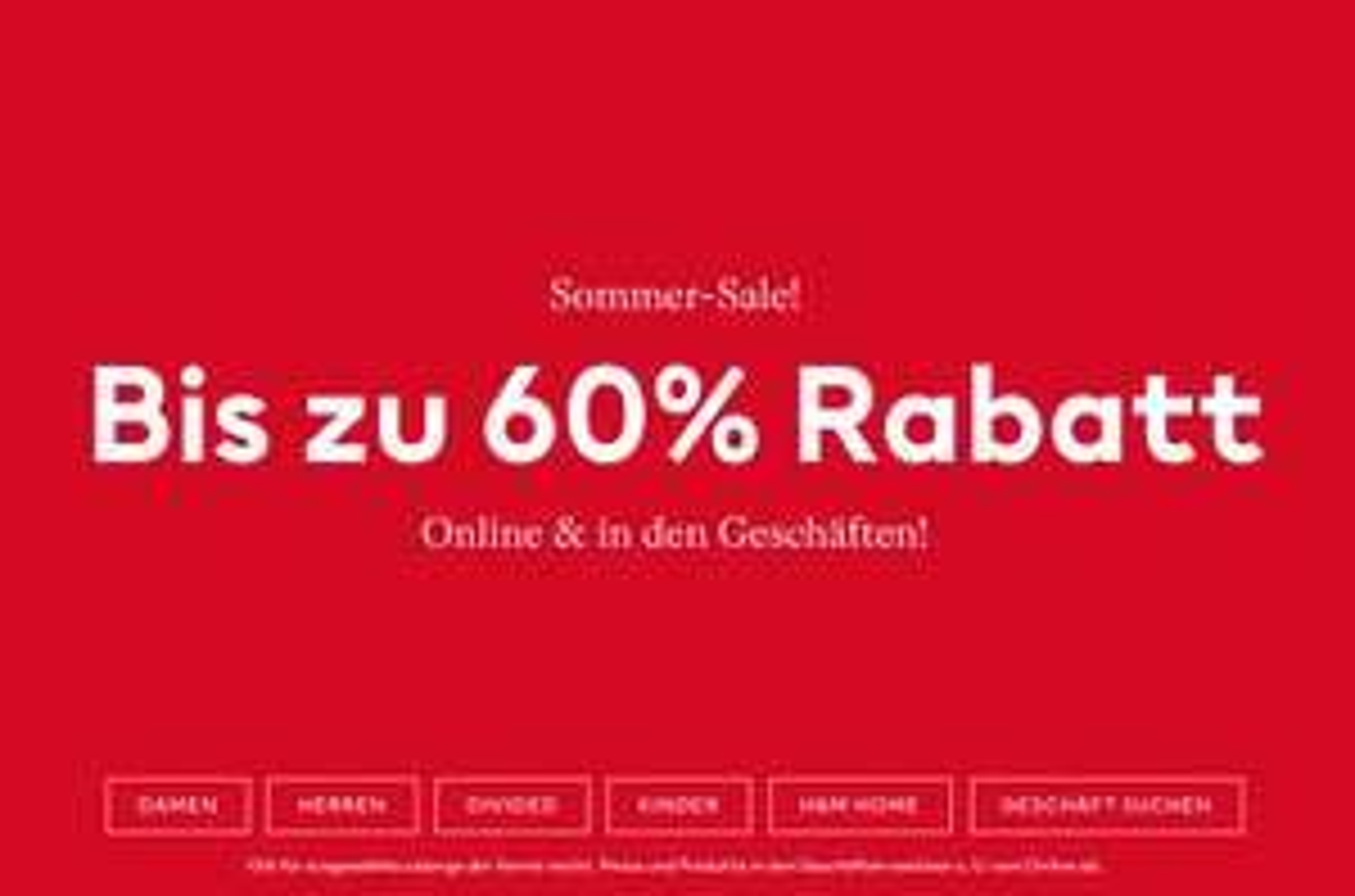 [H&M ONLINE] Sommer Sale bis zu 60% Rabatt (auch in den Geschäften)