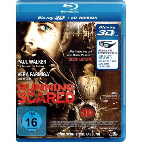 Running Scared 3D inkl. 2D (3D Blu-ray) für 8,97 € @ Amazon.de