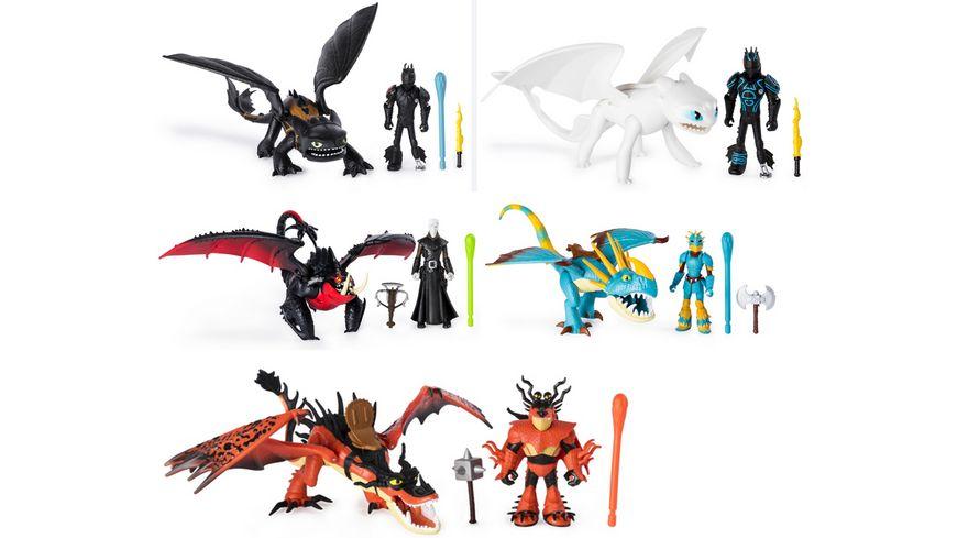 Spin Master - Dragons Drache und bewaffnete Wikinger Figur, 1 Stück sortiert für 9,99€ (Müller Abholung)