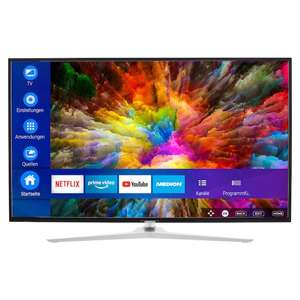 MEDION® LIFE® X14330 Smart-TV, 108 cm (43'') Ultra HD Display, HDR, Dolby Vision™, Micro Dimming, MEMC, Netflix,Prime Video [Medionshop]