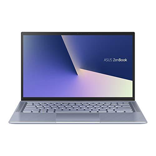"""ASUS Zenbook UM431DA-AM003, Notebook 14"""" (Ryzen R5 3500 , 8GB RAM, 512GB SSD, AMD Radeon, kein OS) Metal Blau - spanische QWERTY Tastatur"""