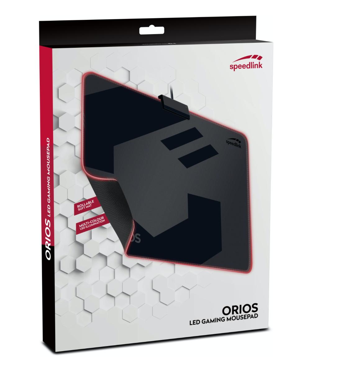 Speedlink Orios LED Gaming Mauspad ( RGB, USB, beleuchtet (B-Ware) )