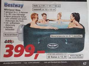 [real ab 22.06.20] Bestway Whirlpool Lay-Z-Spa Ibiza