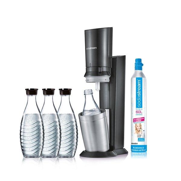 Wieder verfügbar. SodaStream Crystal 2.0 mit 3 Karaffen für 89,96€ durch Rossmann Coupons