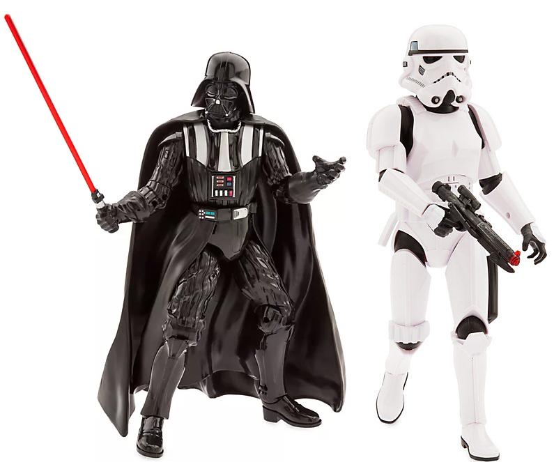 Star Wars - Darth Vader - Sprechende Actionfigur oder als Sturmtruppler Sprechende Actionfigur 37 x 27 x 12 cm