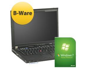 "Lenovo ThinkPad T61 B-WARE, Win7, Core 2 Duo T7500 2.2GHz, 4GB, 100GB, 15,4"" mit 1680x1050"