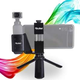 Abverkauf im Rollei Shop mit stark reduzierten Preisen wie Vlog Set für Osmo Pocket