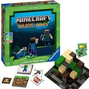 Minecraft Builders & Biomes - Brettspiel für 19,99€ (Media Markt Abholung & Amazon Prime)