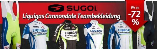 Liquigas Cannondale Teambekleidung - Bekleidung fürs Rad