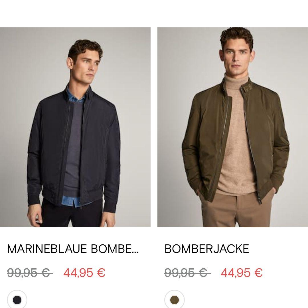 Massimo Dutti: Verschiedene Jacken im Sale (nicht mehr alle Größen verfügbar)