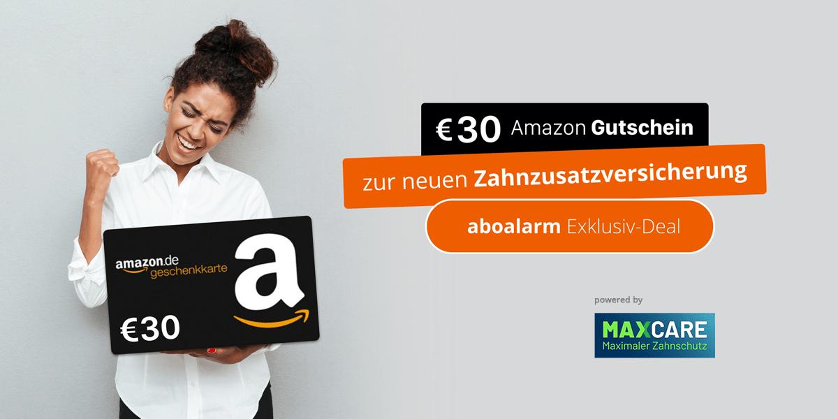Zähne schützen & 30 € Amazon-Gutschein erhalten