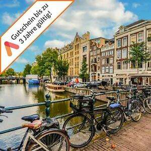 A&O Amsterdam Familien Zimmer 3 - 4 Tage Hotelgutschein 2 Erw + 2 Kinder