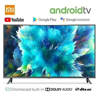Xiaomi Mi Smart TV 4S 55 Zoll (4K Ultra HD, Triple Tuner, Android TV 9.0, Fernbedienung mit Mikrofon, Amazon Prime Video und Netflix)