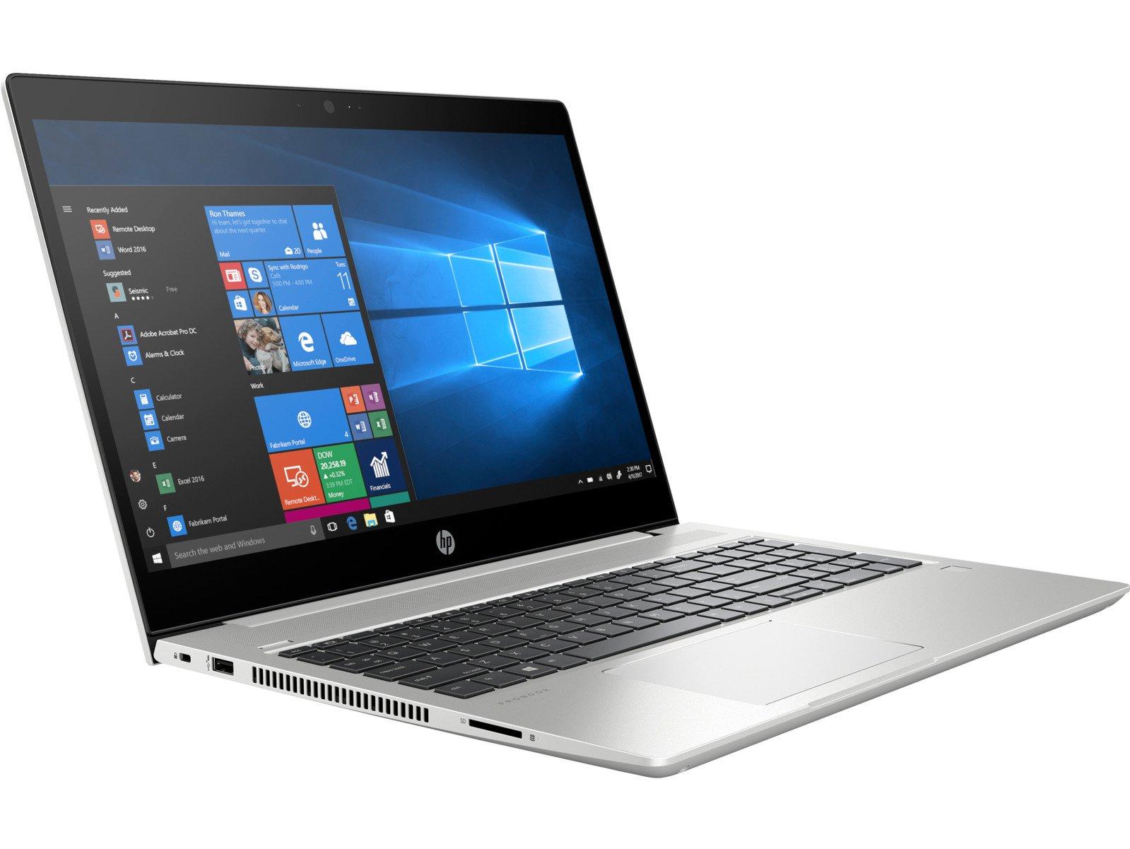 "HP ProBook 450 G6 (15.6"", IPS, FHD, 220cd/m², i7-8565U, 8GB RAM, 256GB PCIe SSD, MX130 2GB, HDMI 1.4, USB-C + DP & PD, 45Wh, Win10 Pro)"