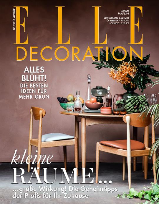 ELLE Decoration Abo (3 Ausgaben) für 19,50 € mit 15 € Verrechnungsscheck (Kein Werber nötig)
