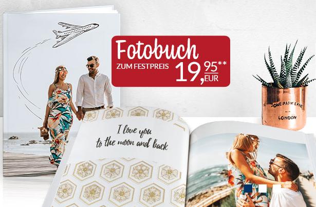 Pixelnet Fotobuch A4 Hardcover 24-120 Seiten nur 19,95 + VK