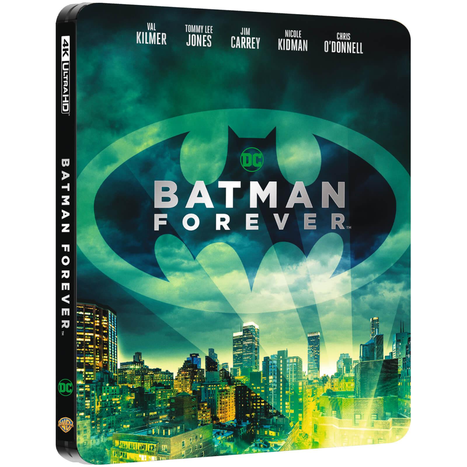 Batman Forever und Batman & Robin im Limited Steelbook Edition (4K Blu-ray + Blu-ray) für je 17,84€ (Zavvi)