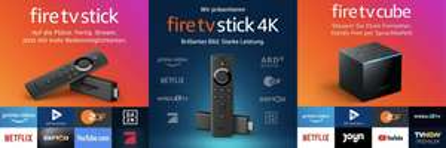 Amazon Fire TV Stick (2019) für 19,99€ | 4K für 39,99€ | Cube für 89,99€ [Amazon, Saturn, MediaMarkt, Cyberport & NBB]