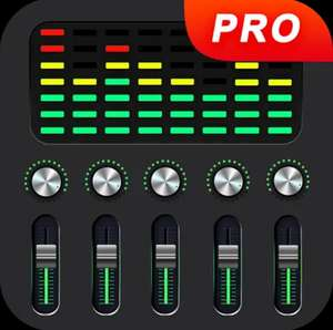 Equalizer FX Pro inkl. Bass & Volume Booster (4,5* >100.000 Downloads) [Android-Freebie]