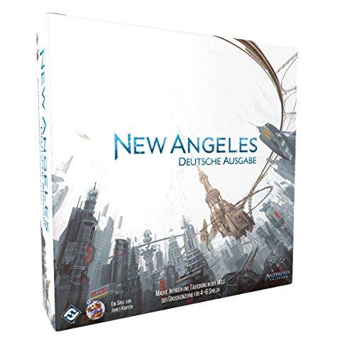 Android: New Angeles   Brettspiel   120-240 Minuten   4 bis 6 Spieler   7,2 BGG   Deutsche Version