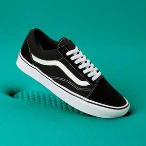 Vans Old Skool Comfycush - Black-True White-White - Größen 41/42,5
