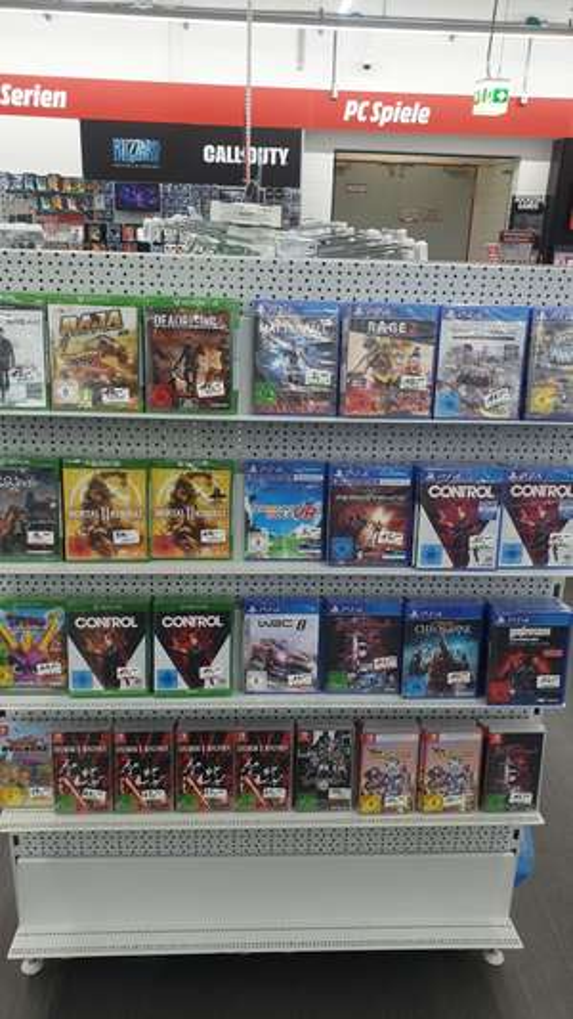 [Lokal] Kaufpark Eiche, verschiedene Xbox One, PS4 und Nintendo Switch Spiele reduziert. Restposten
