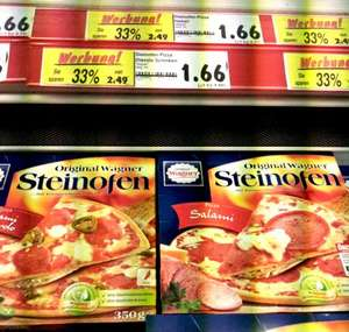 Wagnerpizza nur 1,66€ bei Kaufland Potsdam (lokal)