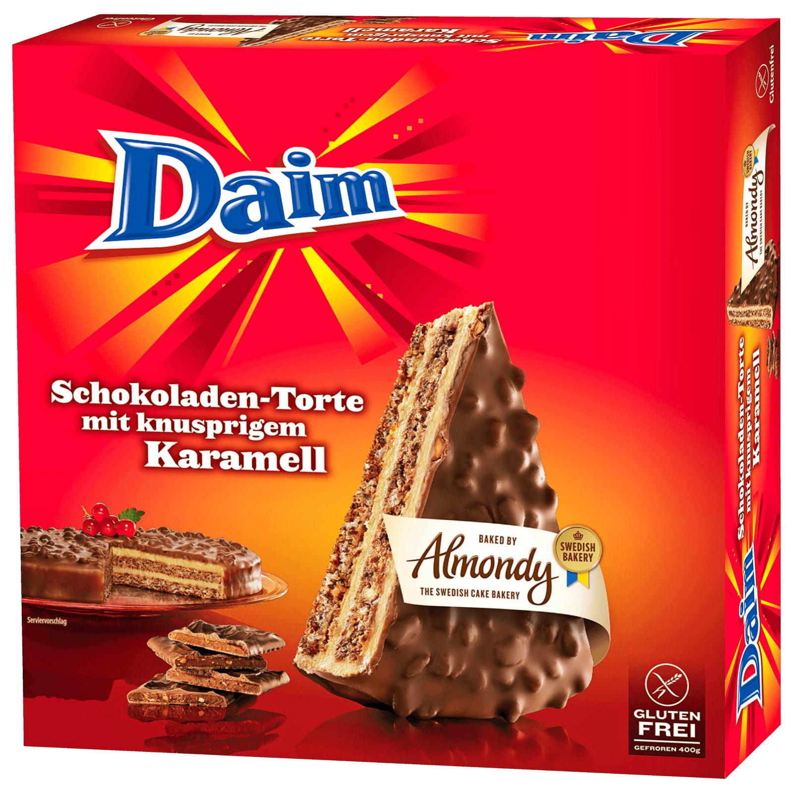 Almondy Daim Schokoladen-Torte (regional / lokal)