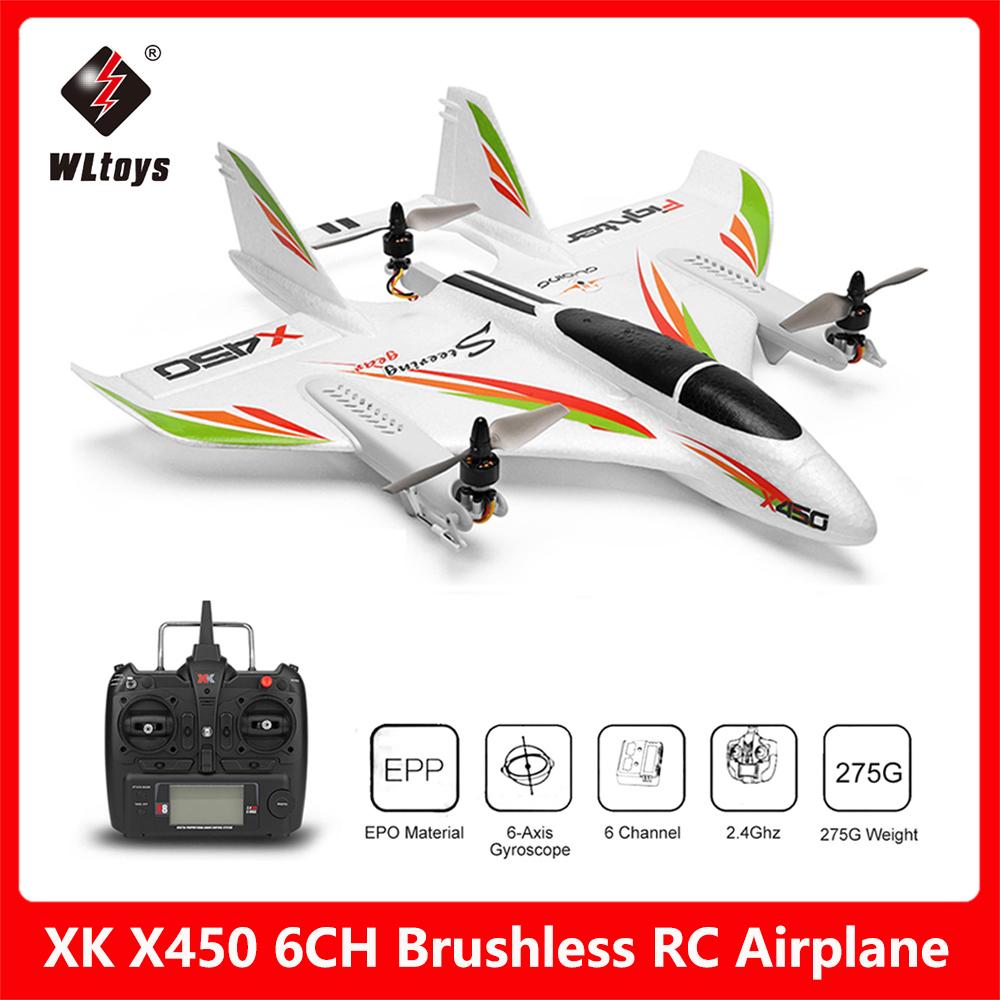 [Aliexpress] WLtoys XK X450 Ferngesteuertes Flugzeug | Versand aus Tschechien