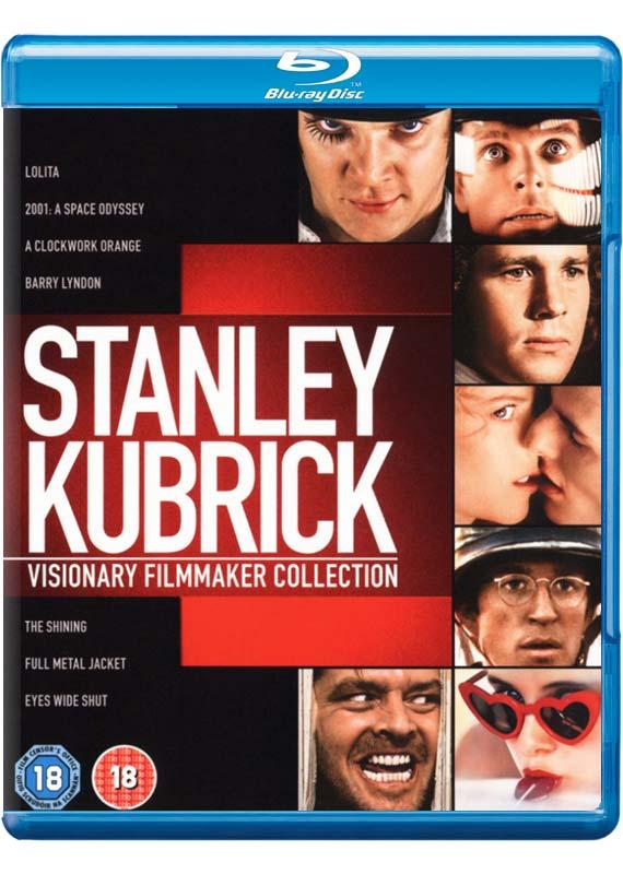 Stanley Kubrick: Visionary Filmmaker Collection (8x Blu-ray) für 22,99€ inkl. Versand