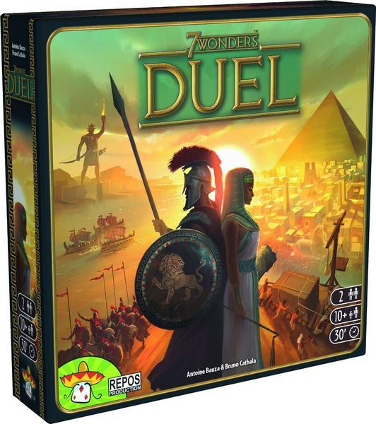 Brett- & Gesellschaftsspiele im Bol.de Angebot: z.B. 7 Wonders Duell + Füllartikel für 2 Spieler ab 10 Jahren, BGG 8,1, ca. 30min Spiel