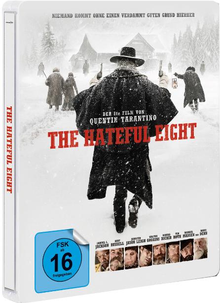 The Hateful 8 - Limited Edition Steelbook (Blu-ray) für 12,99€ inkl. Versand (CeDe)