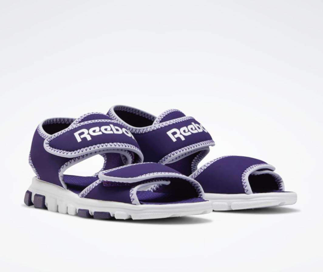 Reebok Kinderschuhe: alles 50% billiger im Outlet + 25% Rabatt - Sandalen ab 9€