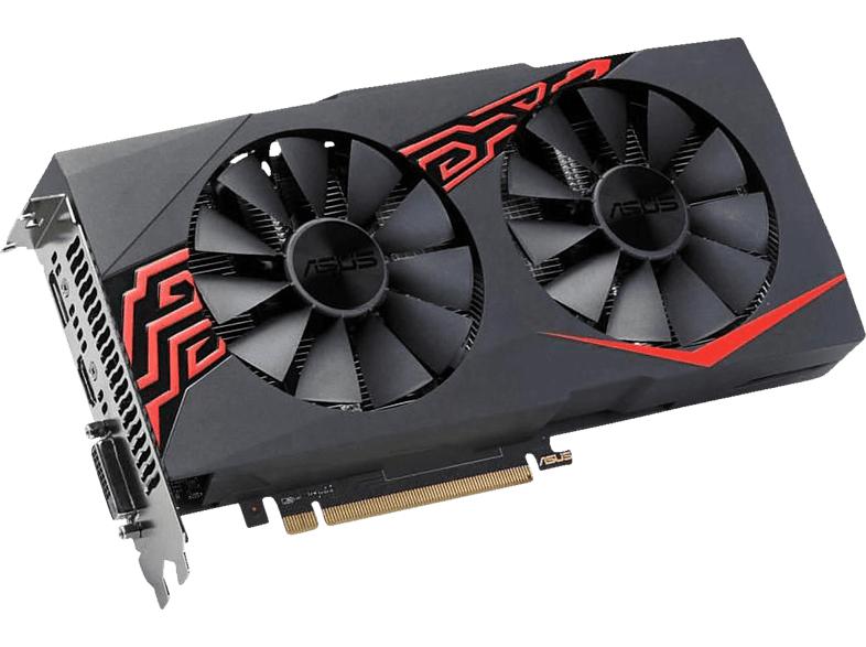 ASUS Radeon RX 570 Expedition 4GB OC (90YV0AI0-M0NA00) (AMD, Grafikkarte)