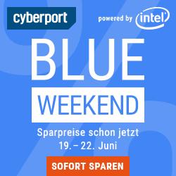 Cyberport Blue Weekend: diverse Angebote für NAS-Gehäuse, Notebooks, Monitore, Lautsprecher, Haushaltsgeräte, uvm.