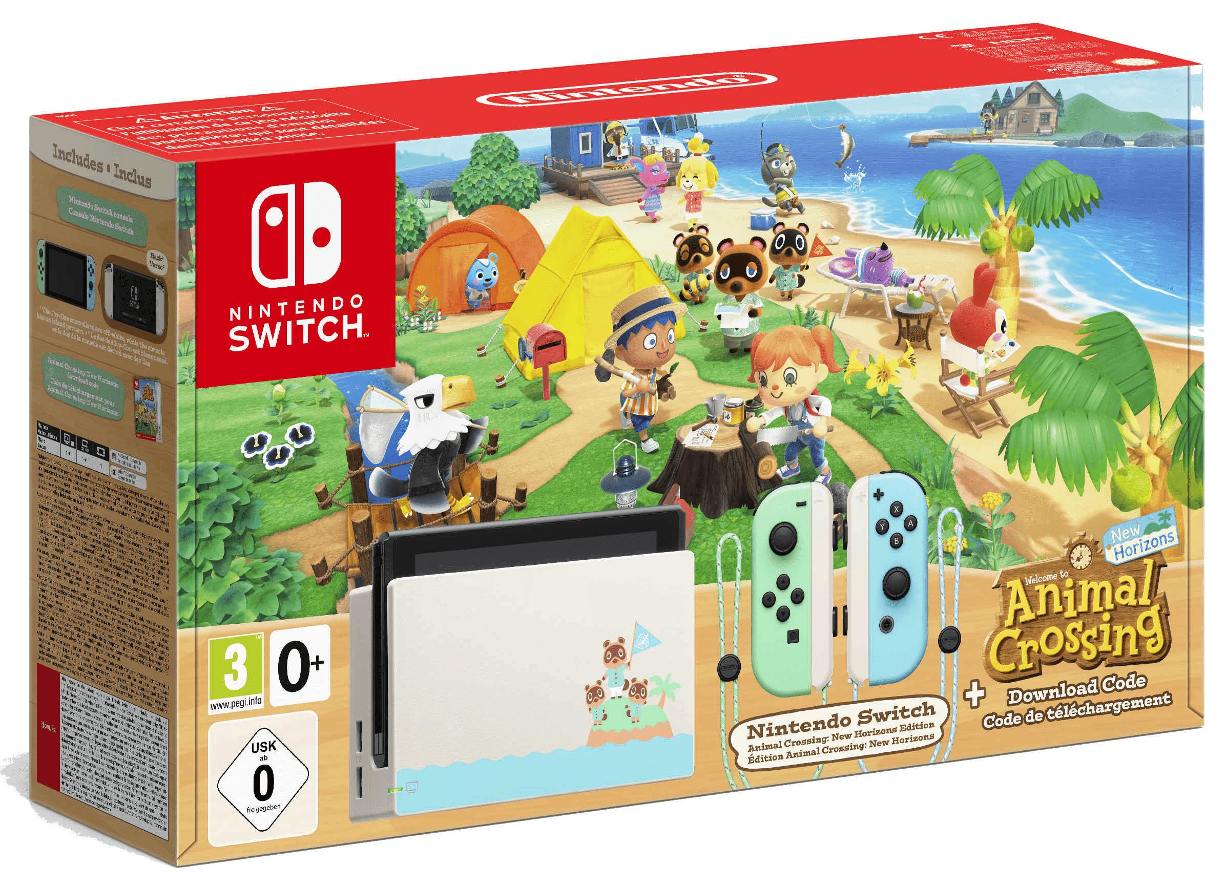 Nintendo Switch Animal Crossing New Horizons Edition für 109,95 ZZ mit mobilcom-debitel Vodafone green LTE (18GB LTE, 50 Mbit/s) mtl. 24,99€