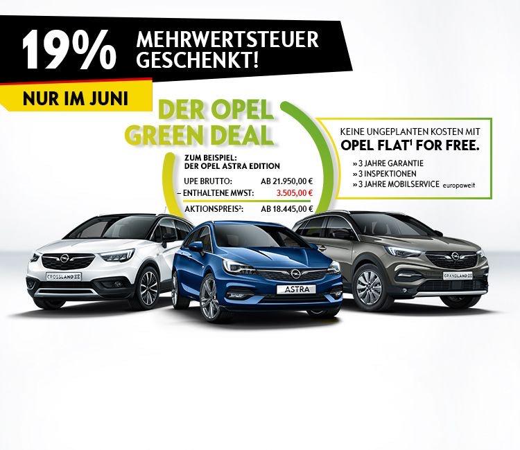 Opel Deutschland Mehrwertsteuer geschenkt