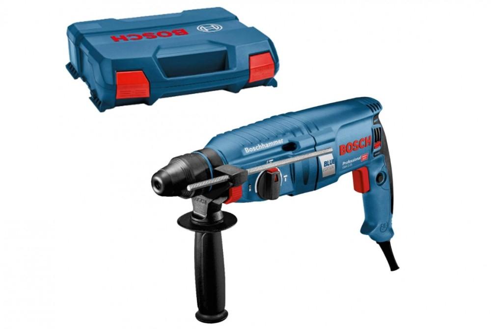 Bosch Professional Bohrhammer GBH 2-25 in L-Case ( 0611253500 Sondermodel, 790W Motor, 2,5J Schlagenergie )