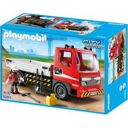 [Kaufland Regensburg] Playmobil 5283 Baustellen LKW