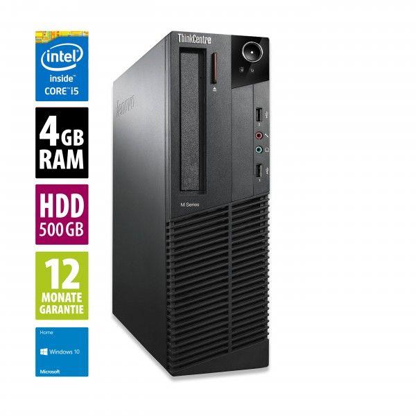 AfB Shop: Lenovo ThinkCentre M92p SFF,Core i5-3470, 4GB RAM, 500GB HDD, DVD-RW, Win10 Home