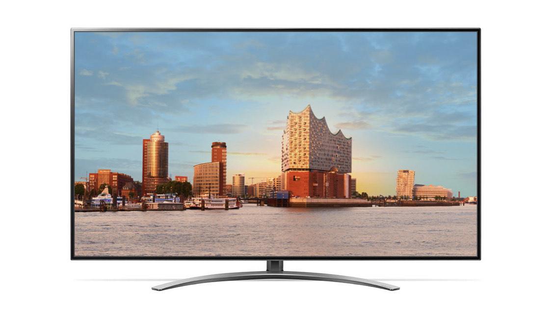 LG 65SM9010PLA Fernseher 4K UHD 100Hz Dolby Vision HDR Direct-LED
